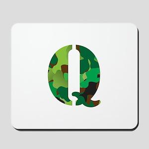The Letter 'Q' Mousepad