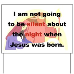 I AM NOT GOING TO BE SILENT ABOUT THE NIGHT WHEN..