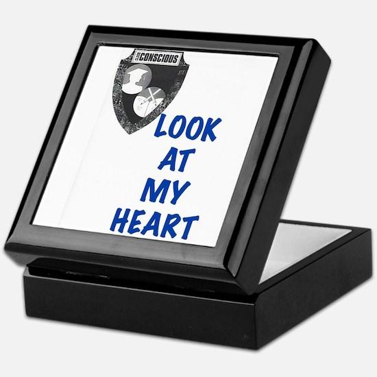 Look At My Heart Keepsake Box