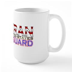 US Coast Guard Veteran Large Mug