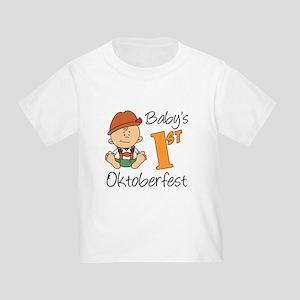 Baby's First Oktoberfest Toddler T-Shirt