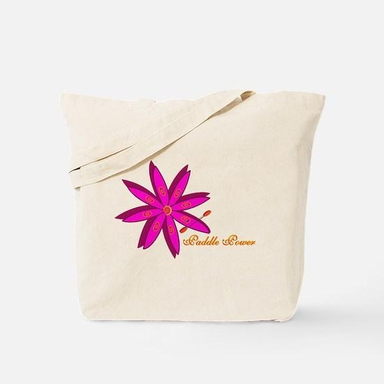 Kayak Paddle Power (Pink) Tote Bag