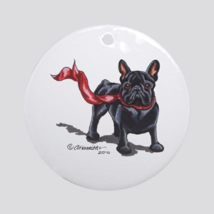 French Bulldog Lover Ornament (Round)