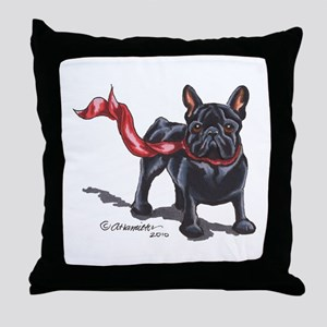 French Bulldog Lover Throw Pillow