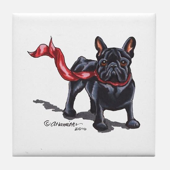 French Bulldog Lover Tile Coaster