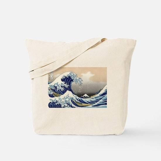 Kanagawa The Great Wave Tote Bag