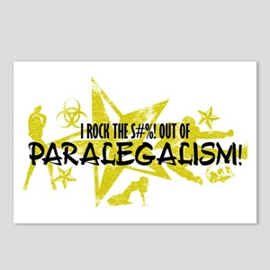 I ROCK THE S#%! - PARALEGALISM Postcards (Package