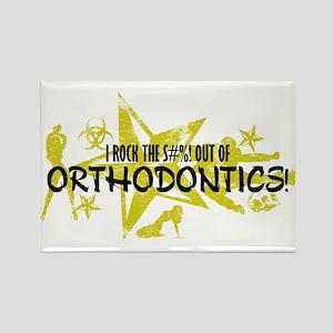 I ROCK THE S#%! - ORTHODONTICS Rectangle Magnet