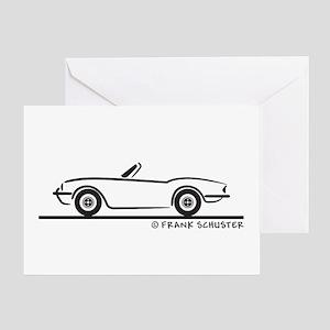 Triumph Spitfire Greeting Card