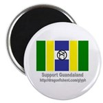 Glyph Guandaland Flag Magnet
