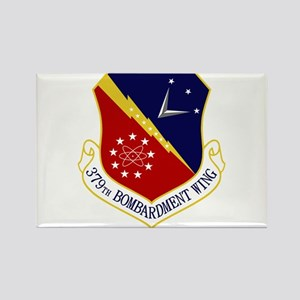 379th Bomb Wing Rectangle Magnet