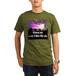 Kiss The Sky Organic Men's T-Shirt (dark)