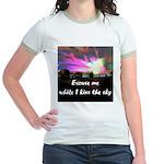 Kiss The Sky Jr. Ringer T-Shirt