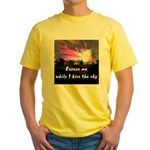 Kiss The Sky Yellow T-Shirt