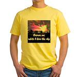 Kiss The Sky Yellow T-Shirt