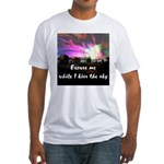 Kiss The Sky Fitted T-Shirt
