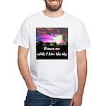Kiss The Sky White T-Shirt