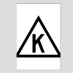 Triangle K Postcards (Package of 8)