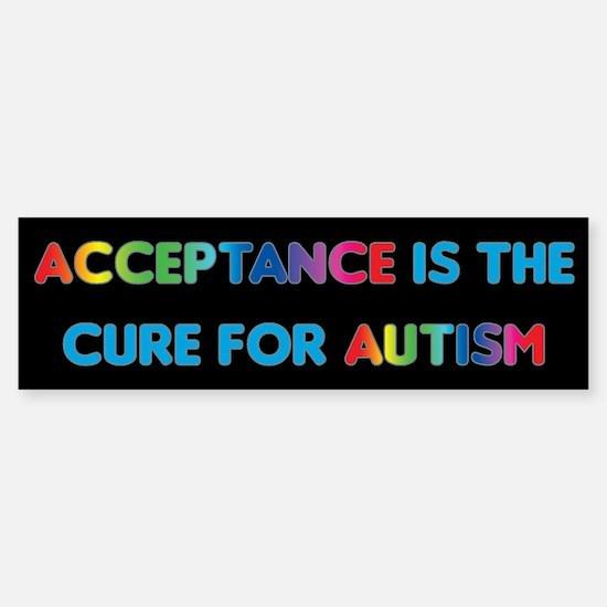 Autism Acceptance Sticker (Bumper)