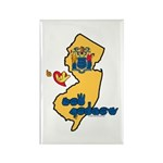 ILY New Jersey Rectangle Magnet (100 pack)