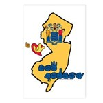 ILY New Jersey Postcards (Package of 8)