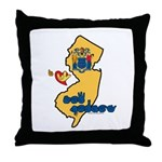 ILY New Jersey Throw Pillow