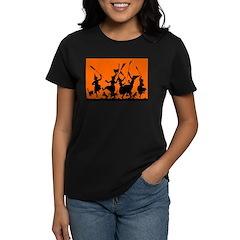 Witches Dance 2 Women's Dark T-Shirt