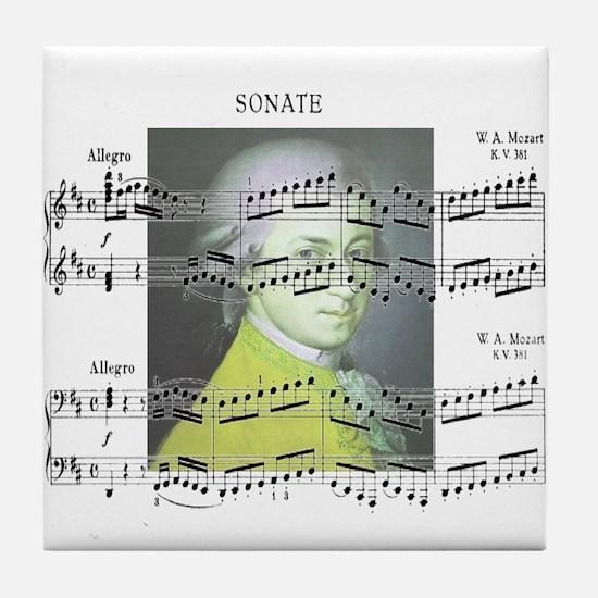Musicians Tile Coaster