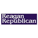 Reagan Republican Bumper Sticker
