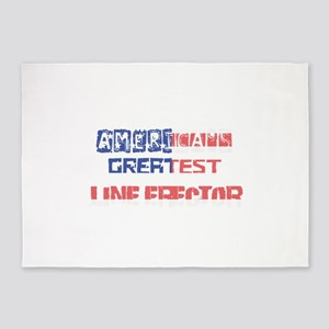America's Greatest Line Erector 5'x7'Area Rug