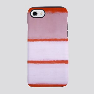 ROTHKO RED BORDER PINK WHITE iPhone 7 Tough Case