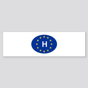 EU Hungary Sticker (Bumper)