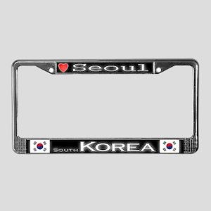 Seoul, South KOREA - License Plate Frame