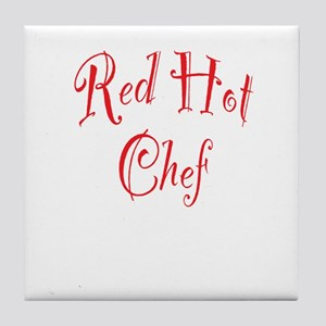 Red Hot Chef Tile Coaster