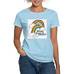 Double Rainbow Women's Light T-Shirt
