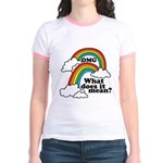 Double Rainbow Jr. Ringer T-Shirt
