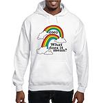 Double Rainbow Hooded Sweatshirt