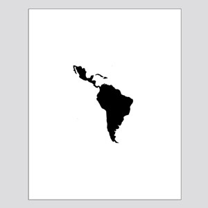 Latin South America Small Poster