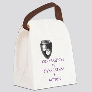 Compassion Canvas Lunch Bag