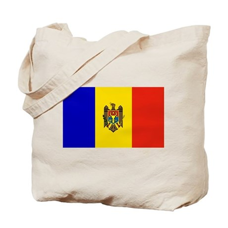 Moldovan Flag Tote Bag