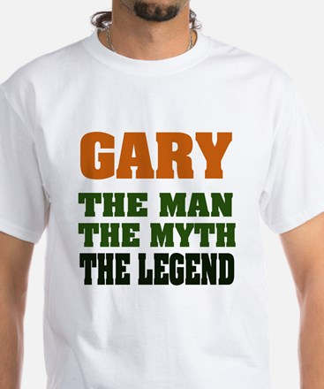 GARY - the Legend White T-Shirt