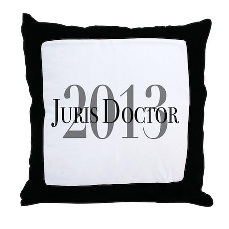 Juris Doctor 2013 Throw Pillow