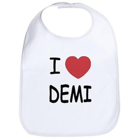 I heart Demi Bib