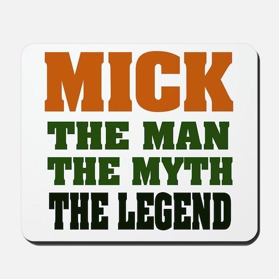 MICK - The Lengend Mousepad