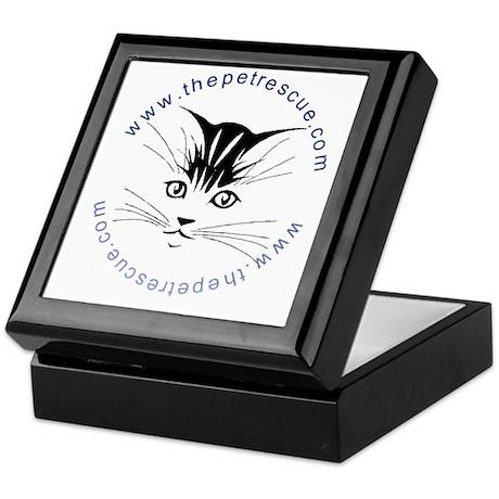 Pretty kitty face (small) Keepsake Box