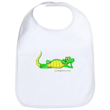 The cool gator Bib