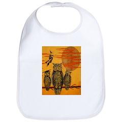 3 Owls Bib