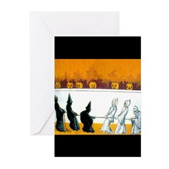 Ghostly Ghouls Greeting Cards (Pk of 10)