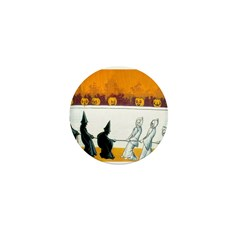 Ghostly Ghouls Mini Button (100 pack)