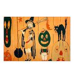 Halloween Frolic Postcards (Package of 8)